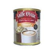 Caffe D'Vita Cappuccino, Premium Instant, Caramel