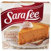 Sara Lee New York Style Cheesecake, Pumpkin, 30 oz. (Frozen)