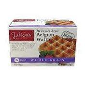 Julian's Recipe Whole Grain Waffles
