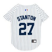 Pet First Extra Large Giancarlo Stanton Jersey Pet Costume