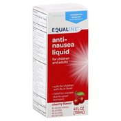 Equaline Anti-Nausea Liquid, for Children and Adults, Cherry Flavor
