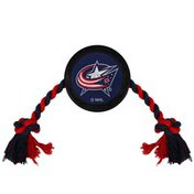 Pets First Columbus Blue Jackets Puck Toy for Dogs & Cats