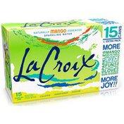 LaCroix Mango Sparkling Water - 15pk/12 fl oz Cans