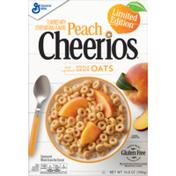 Cheerios Peach  Cereal, Gluten Free Breakfast Cereal