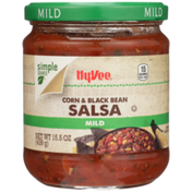 Hy-Vee Mild Corn & Black Bean Salsa