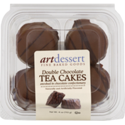 Art Dessert Tea Cakes, Double Chocolate