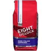 Eight O'Clock Coffee Dark Italian Espresso Whole Bean Coffee