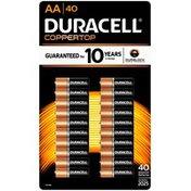 Duracell Coppertop AA Alkaline Batteries, Primary Major Cells