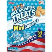 Kellogg's Rice Krispies Treats Original Crispy Marshmallow Mini Squares