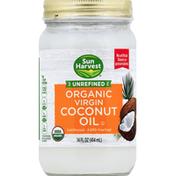 Sun Harvest Coconut Oil, Organic, Virgin, Unrefined