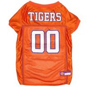 Pets First Extra Large Clemson Tigers Mesh Dog Jersey
