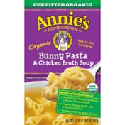 Annie's Soup, Organic, Bunny Pasta & Chicken Broth
