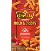 Ore-Ida Bold & Crispy Chili Cheese Crinkle Fries Seasoned French Fried Potatoes