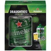 Heineken DraughtKeg Lager Gift Pack Beer