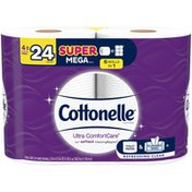 Cottonelle Ultra ComfortCare Super Mega Roll Toilet Paper Bath Tissue