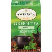 Twinings Mint Green Tea Bags