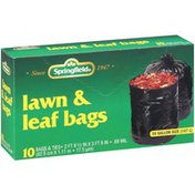 Springfield Lawn & Leaf With Ties 39 Gallon Size Bags