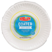 Our Family Coated Paper Plates