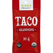 Riega Taco Seasoning, Organic, No. 4