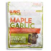 Slant Shack Maple Garlic Beef Jerky