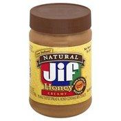 Jif Peanut Butter Spread & Honey, Creamy