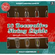 Lawn and Garden International Decorative String Lights, Multi LED