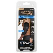 Copper Fit Elbow Sleeve, Compression, Unisex, Large