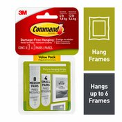 3M Command Command™ Small and Medium Picture Hanging Strips