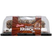 Friendly's Ice Cream Cake, Premium, Chocolate Krunch