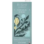 Rishi Tea Chai Concentrate, Organic, Chaga
