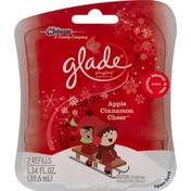 Glade Scented Oil, Apple Cinnamon Cheer