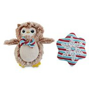 """4"""" Holiday Snowflake Owl"""
