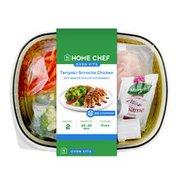 Home Chef Teriyaki-Sriracha Chicken With Sesame Broccoli And Peppers