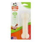 Nylabone Essentials Dental Chew Dog Toy Chicken Flavor