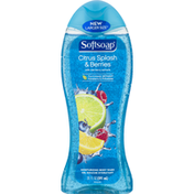 Softsoap Moisturizing Body Wash, Citrus Splash & Berries