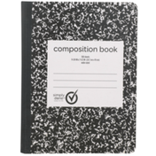 Simply Done Wide Ruled Composition Book