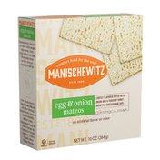 Manischewitz Matzos Egg & Onion