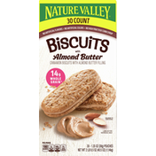 Nature Valley Biscuits with Almond Butter, 30 Pack