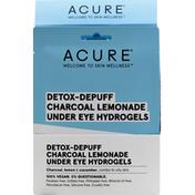 ACURE Hydrogels, Under Eye, Detox-Depuff Charcoal Lemonade