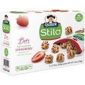 Quaker Stila Bits Strawberry .7 oz Oat Clusters