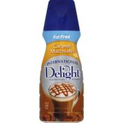 International Delight Coffee Creamer, Gourmet, Caramel Macchiato, Fat Free