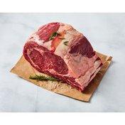 Open Nature Bone In Grass Fed Angus Beef Rib Roast