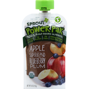 Sprout Apple with Superblend Blueberry Plum, T (12 Months & Up)