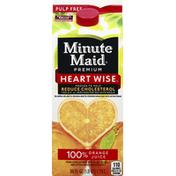 Minute Maid 100% Juice, Orange, Pulp Free