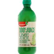 Brookshire's 100% Juice, Lime Juice