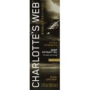 Charlotte's Web Hemp Extract Oil, Full Strength, Olive Oil