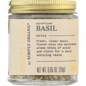 Simply Organic Basil, Egyptian