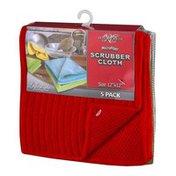 "Royal Crest Microfiber Scrubber Cloth 12""x12"" - 5 CT"