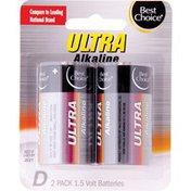Best Choice Ultra Alkaline D Batteries