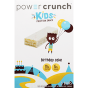 Power Crunch Protein Snack Bar, Birthday Cake